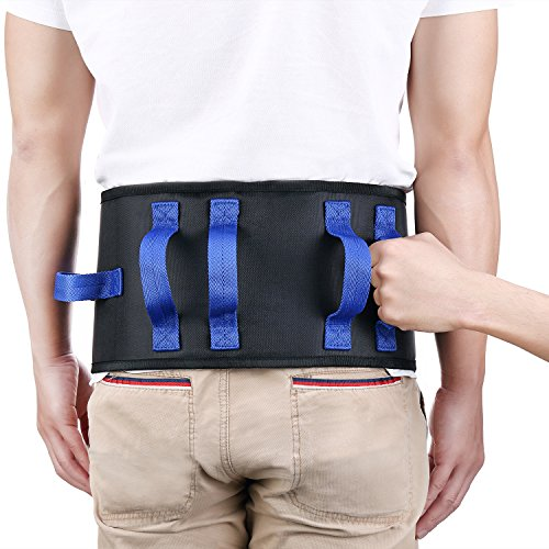 Oasisspace Transfer Belt With Handles 2 In 1 Standing
