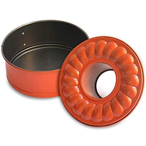7 Inch Non Stick Springform Bundt Pan 2 In 1 For Use With